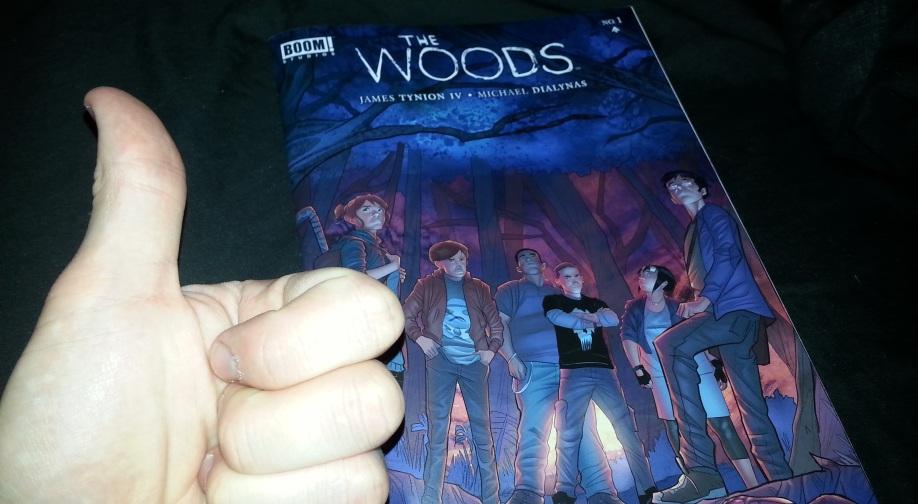 Wood Comics Comic Review – The Woods 1