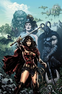 Wonder Woman #1 cover by Sharp